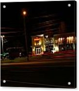 Tgi Fridays Car Lights Glow Acrylic Print