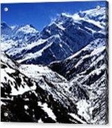 The Annapurna Circuit - The Himalayas Acrylic Print