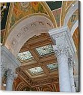 Great Hall Of The Library Of Congress Acrylic Print