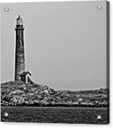 Thacher Island's North Tower Lighthouse Acrylic Print