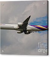 Thai Airways A340 Airbus Acrylic Print