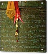 Thai Bell Acrylic Print