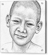 Thai Boy Acrylic Print