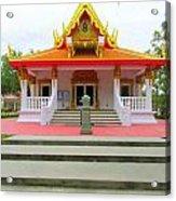 Thai Buddhist Temple I Acrylic Print