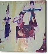 Thai Dance Acrylic Print