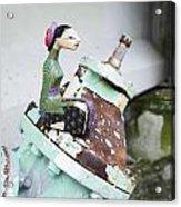 Thai Figurine 1 Acrylic Print by William Patrick
