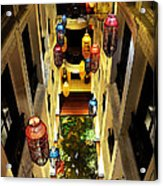 Thai Hotel Acrylic Print by Money Sharma
