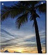 Thailand Sunset Sunrise Acrylic Print