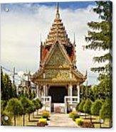 Thailand Temple Acrylic Print