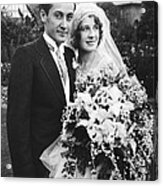 Thalberg And Shearer Wedding Acrylic Print