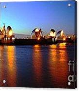 London Thames River Acrylic Print