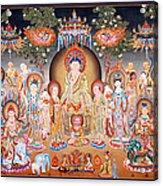 Buddha Art Thangka Acrylic Print