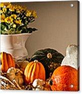 Thanksgiving Still Life Acrylic Print