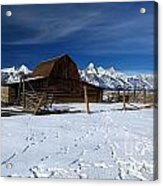 That Famous Barn Acrylic Print