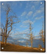 That Glorious Mountain Sky Acrylic Print