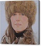 That Hat Acrylic Print by Gary Fernandez