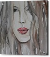 That Lips Acrylic Print