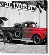 That Old Red Firetruck Acrylic Print