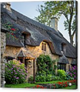 Thatched Roof - Cotswolds Acrylic Print