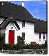 Thatched Roof House Acrylic Print