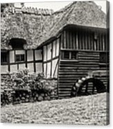 Thatched Watermill 3  Acrylic Print