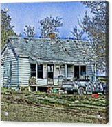 That's Country Acrylic Print
