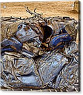That's What Remains Of A Car Acrylic Print