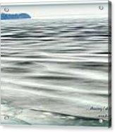 Thawing Lake Acrylic Print