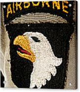The 101st Airborne Division Emblem Acrylic Print
