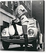 The 14 Millionth Volkswagen Beetle Given To The World Acrylic Print