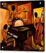 The 1st Jazz Trio Acrylic Print