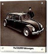 The 35000 Volkswagen Acrylic Print