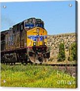 The 5789 Union Pacific Train Acrylic Print