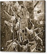 The 5th Division Storming By Escalade Acrylic Print