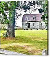 The Abandoned Farmhouse Acrylic Print
