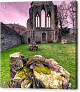 The Abbey  Acrylic Print by Adrian Evans