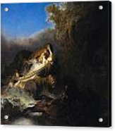 The Abduction Of Proserpina Acrylic Print