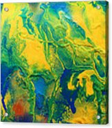 The Abstract Earth Acrylic Print