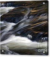 The Abstract Of Motion Acrylic Print