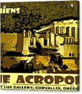 The Acropolis Athens Acrylic Print