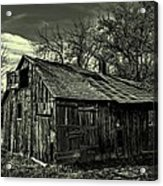 The Adirondack Mountain Region Barn Acrylic Print