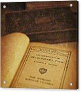 The Adventures Of Huckleberry Finn Acrylic Print by Edward Fielding