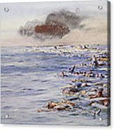The Aftermath Of The Lusitania Acrylic Print
