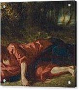 The Agony In The Garden Acrylic Print