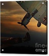 The Air Battle Of Britain Acrylic Print