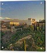 The Alhambra Palace Acrylic Print