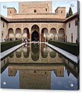 The Alhambra Palace Reflecting Pool Acrylic Print