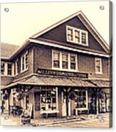 The Allenwood General Store Acrylic Print