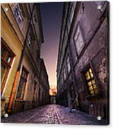 The Alley Of Cracov Acrylic Print