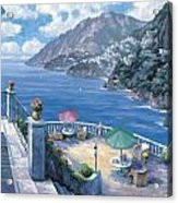 The Amalfi Coast Acrylic Print by John Zaccheo